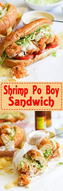 Shrimp Po� Boy