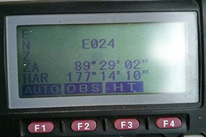 Cara mengatasi error E024 pada total station SOKKIA SET550X