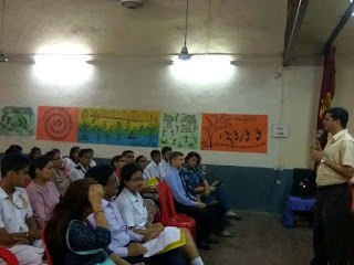 Career Counselling for students by Farzad Damania at Army Public School Mumbai