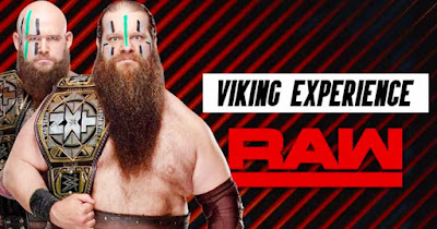 WWE War Raiders Viking Raw Experience Tag Team NXT