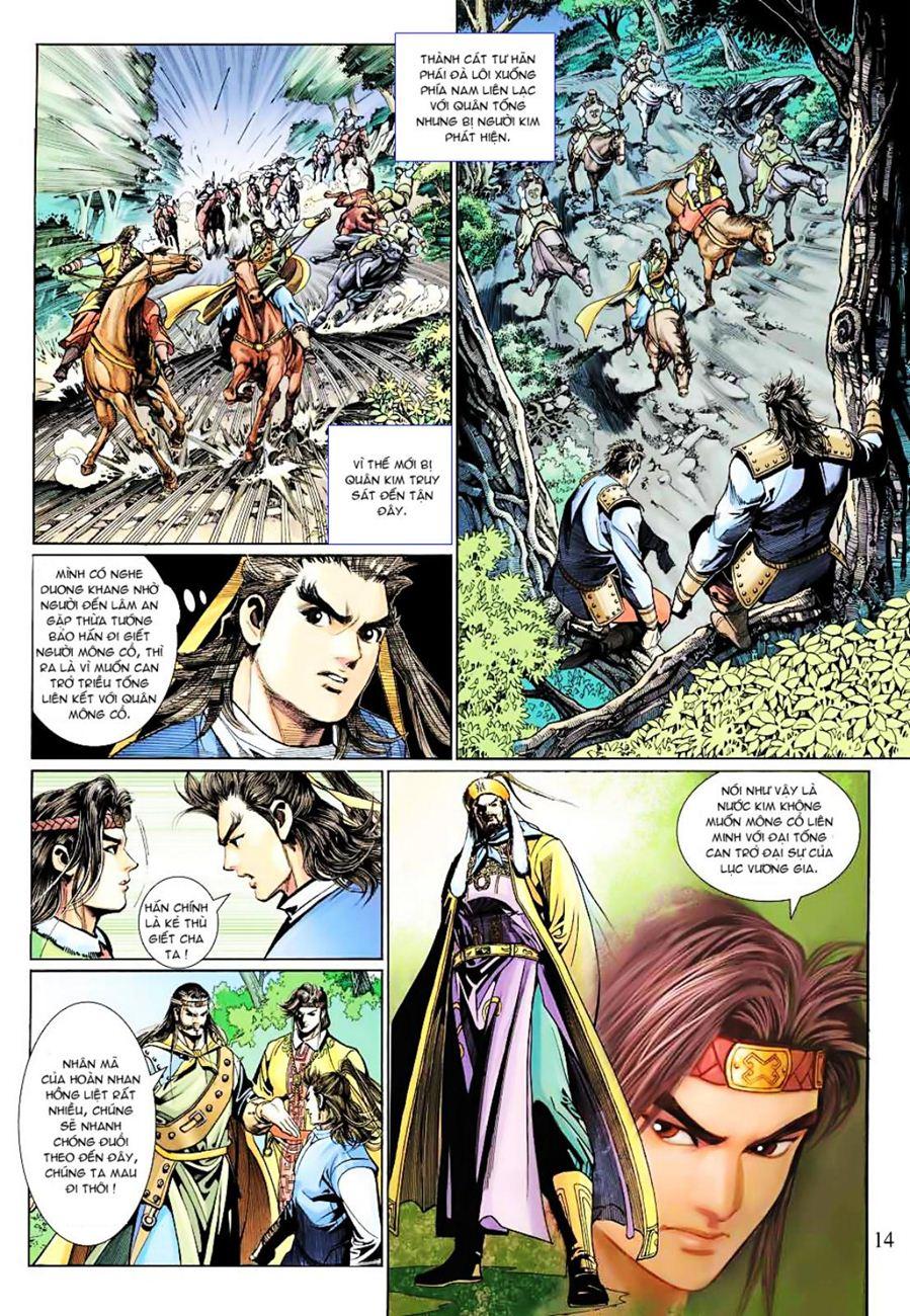 Anh Hùng Xạ Điêu anh hùng xạ đêu chap 38 trang 13
