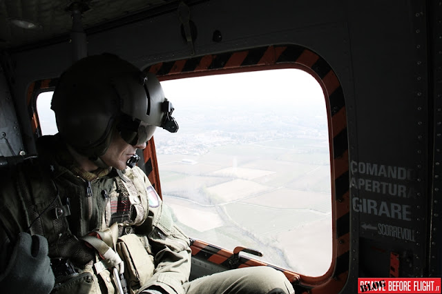 IN FLIGHT WITH ITALIAN AVIATION ARMY 5th REGIMENT