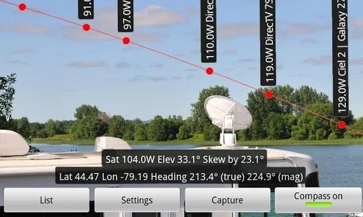 مراجعة تطبيق إرشاد تركيب الدش (لاقط القنوات) Dish Pointer AR Pro : سعر مبالغ فيه؟   بحرية درويد