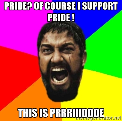 This is PRIDE!