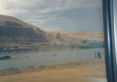 View from near Maryhill, Washington, on July 23, 1999