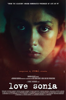 Love Sonia, Hindi Movie Love Sonia, Bollywood, Movie, Bollywood Movie 2018, Hindi Movie, Filem dan Drama Bulan Februari Hingga Mac 2018, Review By Miss Banu, Blog Miss Banu Story, Ulasan, My Opinion, Cast, Pelakon Filem Love Sonia, Mrunal Thakur, Freida Pinto, Sai Tamhankar, Manoj Bajpaye, Rajkummar Rao, Richa Chadda, Riya Sisodiya, Mark Duplass, Anupam Kher, Demi Moore, Poster Movie Love Sonia,