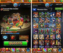 Monster Strike MOD Full Update
