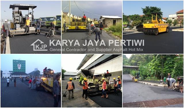 Kontraktor Aspal Jalan, Jasa Pengaspalan Hotmix di Jakarta Bogor Depok Bekasi Tangerang bandung Banten