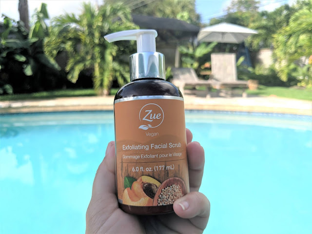Zue Beauty Exfoliating Facial Scrub