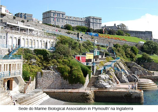 Sede do Marine Biological Association in Plymouth' na Inglaterra