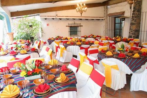 Bodas de Colores Bodas con estilo mexicano