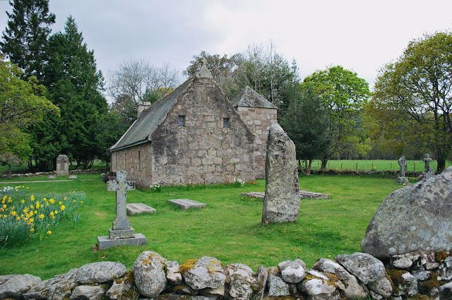 Chapel of St Lesmo - Glen Tanar Estate walk