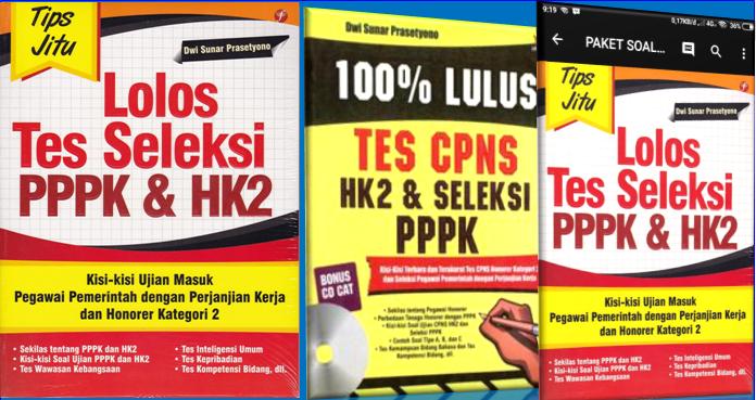 Paket Soal Latihan Tes Pppk P3k Disertai Kunci Jawaban
