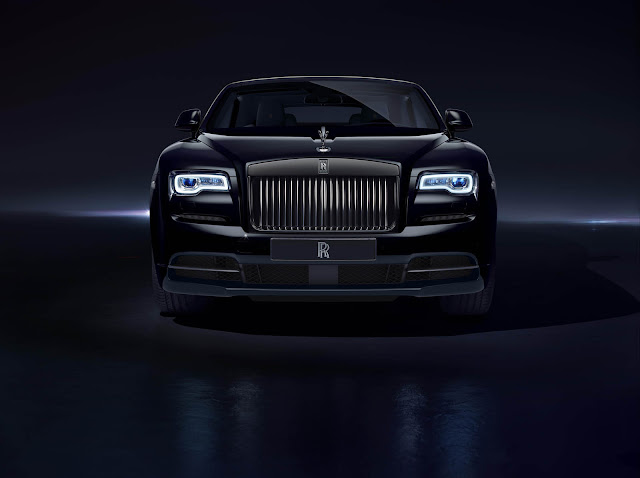 Rolls-Royce Goes All Black With New 593-HP Black Badge Edition