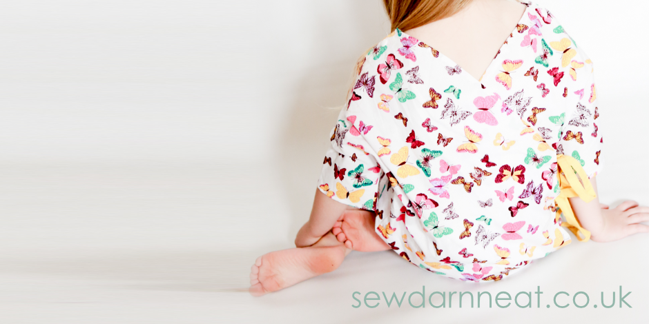 Sew: Hospital Gown - Sew Darn Neat | Sewing Blog