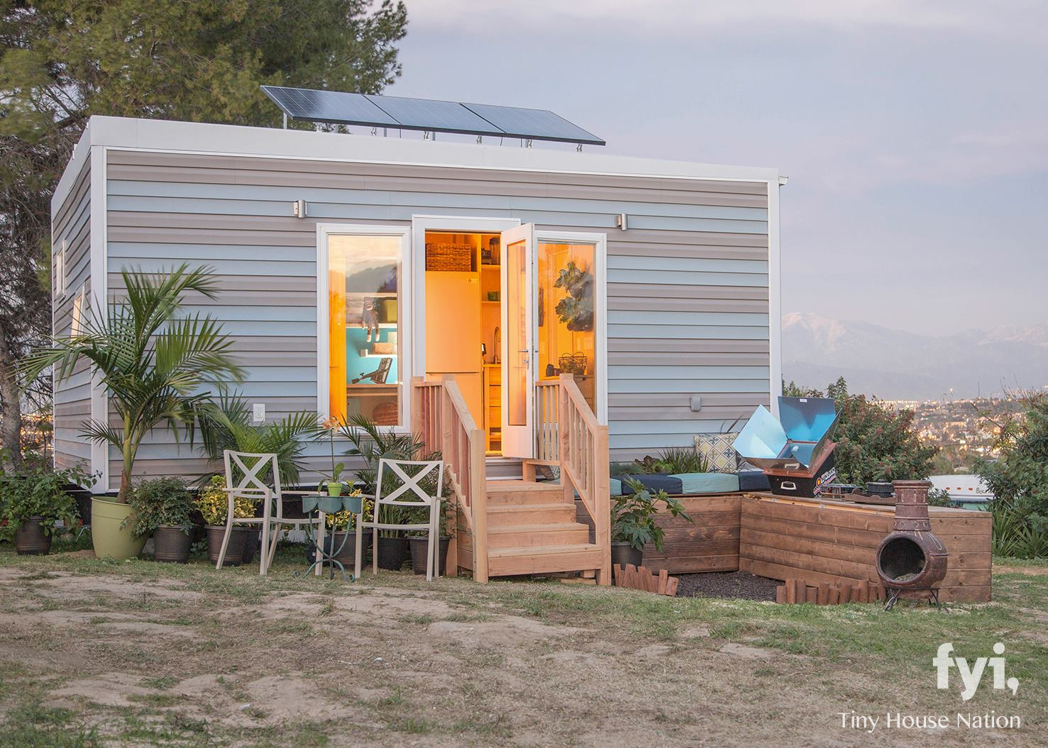 Solar Powered Studio 340 Sq Ft The Homes Of Tiny House