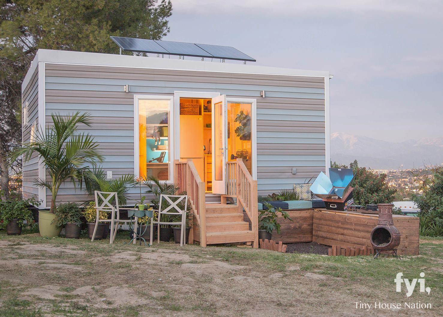 solar powered tiny house. Solar Powered Studio (340 Sq Ft) Tiny House A