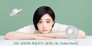 중국주식 SSE:600398 해란지가 주식 시세 주가 차트 - 월간 주간 일간 차트 海澜之家 Heilan Home (HLA) Stock price charts