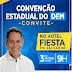 Deputado Pablo Barrozo convida para Convenção do Democratas nesta sexta (3)