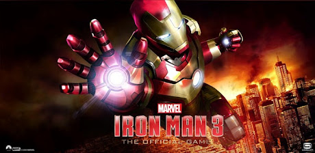 Game Resmi Iron Man 3 Dirilis Gratis di Google Play Store