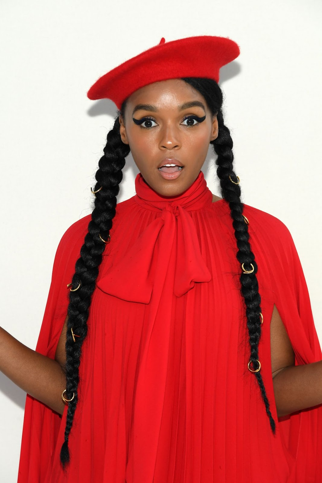 Janelle Monae at Valentino Show at Paris Fashion Week - 03/03/2019