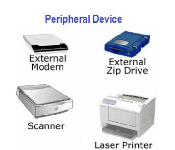 Pengertian Peripheral Device dan Macam-macam fungsinya