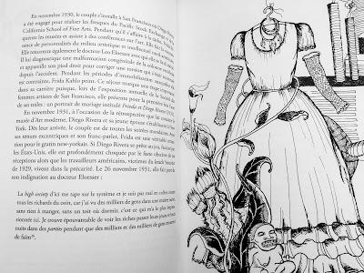 Un ruban autour d'une bombe, biographie textile de Frida Kahlo, Maud Guély & Rachel Viné-Krupa, nada éditions.