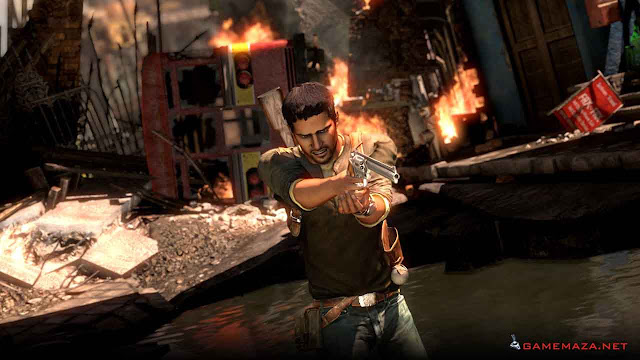 Uncharted 2 Among Thieves Gameplay Screenshot 5