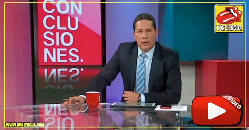 La extraña ausencia de Fernando del Rincón de su programa CONCLUSIONES