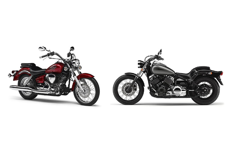 HONDAYES: Yamaha Drag Star Offer 2 New Colors