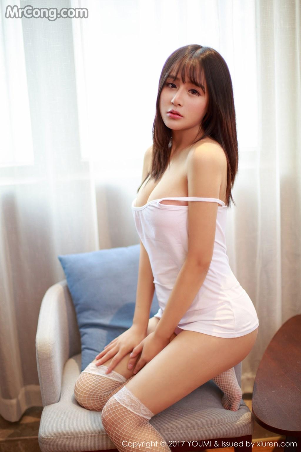 YouMi Vol.009: Người mẫu Sukiii (思淇) (53 ảnh)