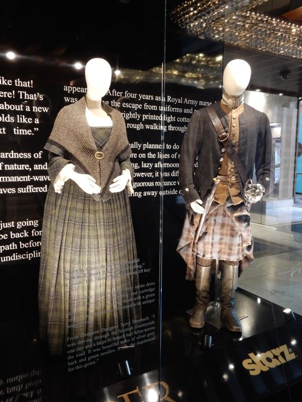 Original Outlander Claire Randall Jamie Fraser costumes