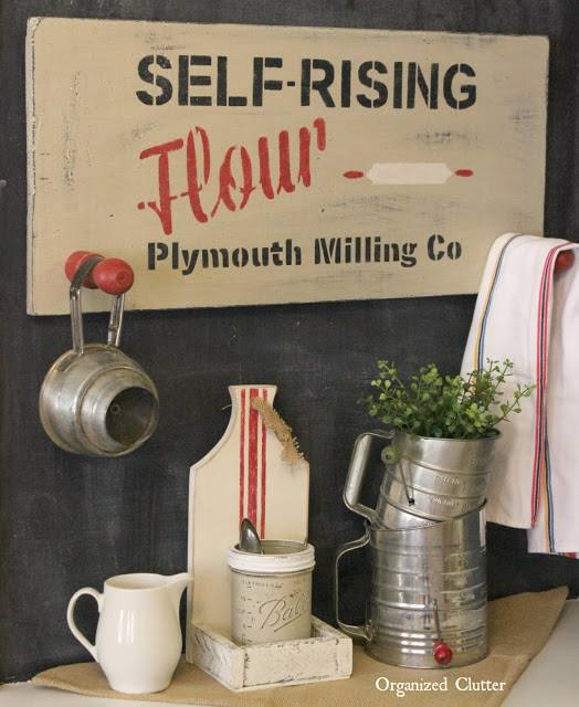 Self Rising Flour Sign