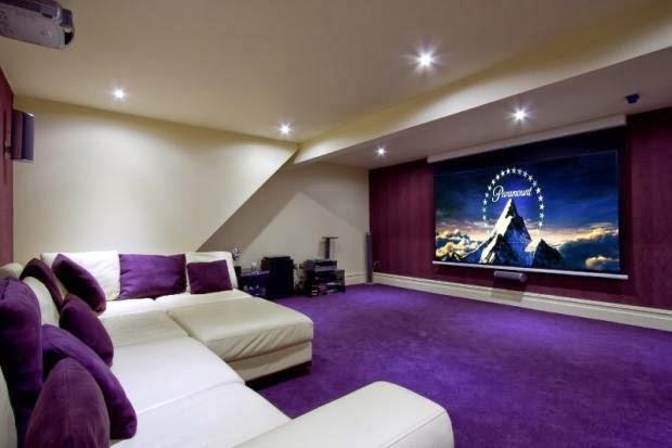 Interior Relooking Proiettore a casa come al cinema