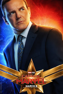 Capitã Marvel Coulson Pôster
