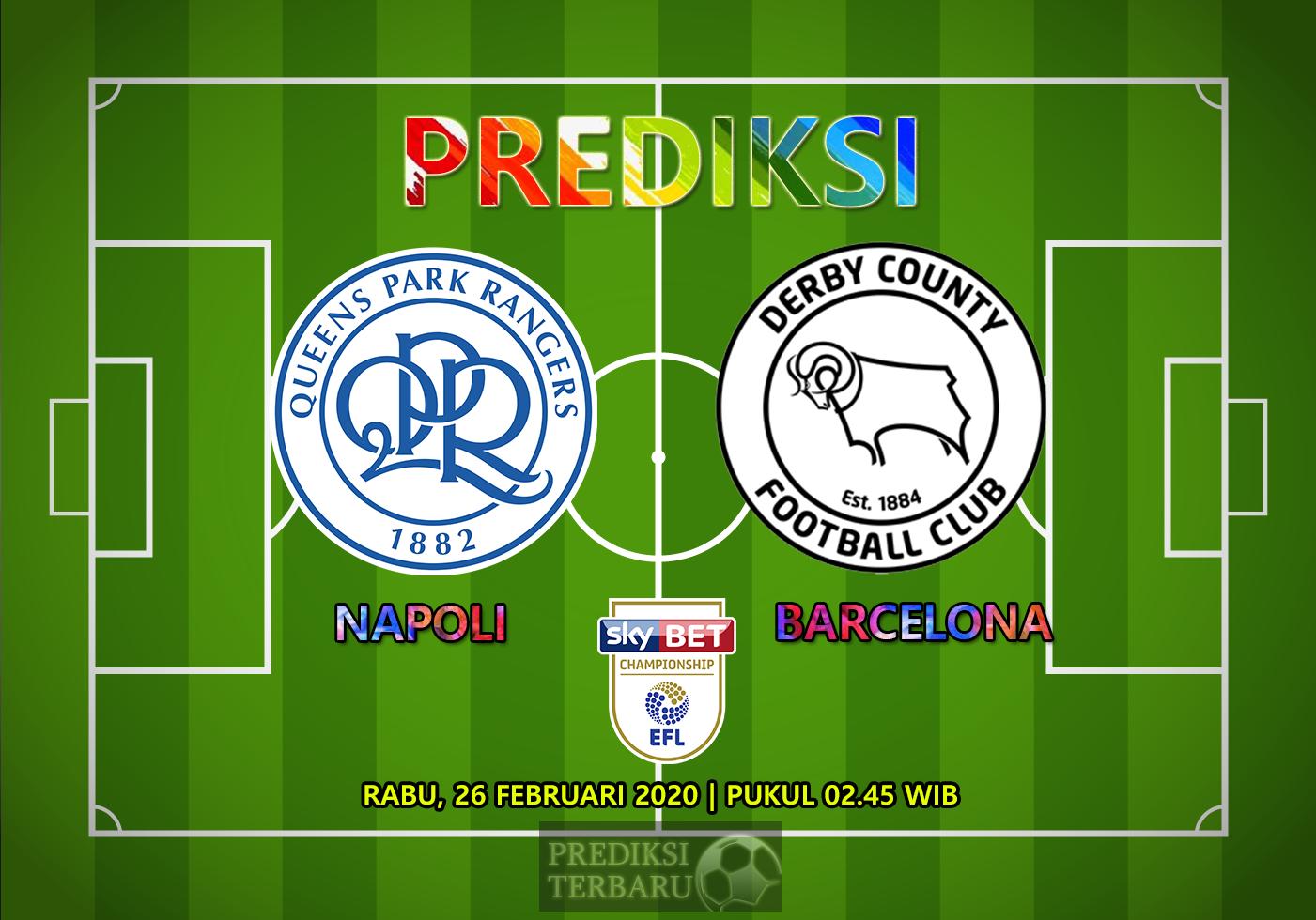 Prediksi Queens Park Rangers Vs Derby County, Rabu 26 Februari