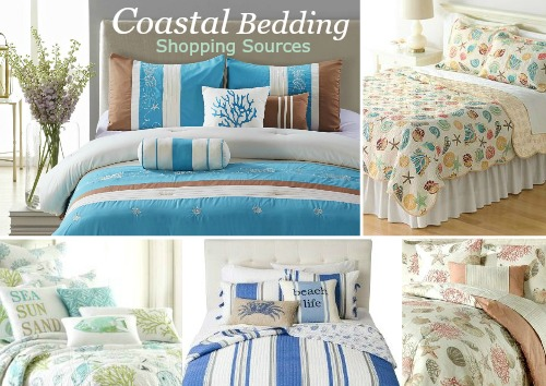 Coastal Beach and Nautical Bedding Shopping Sources | Where to Buy