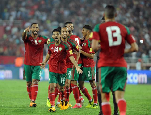 """ألف مبروك للمنتخب المغربي لتحقيقه إنجازا تاريخيا .. المغرب في """"روسيا 2018"""