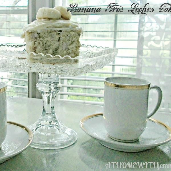 Banana Tres Leches Cake
