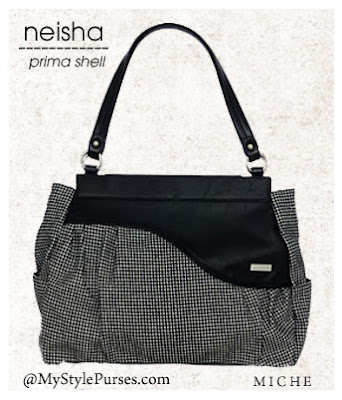 Miche Neisha Prima Shell - Houndstooth Purse