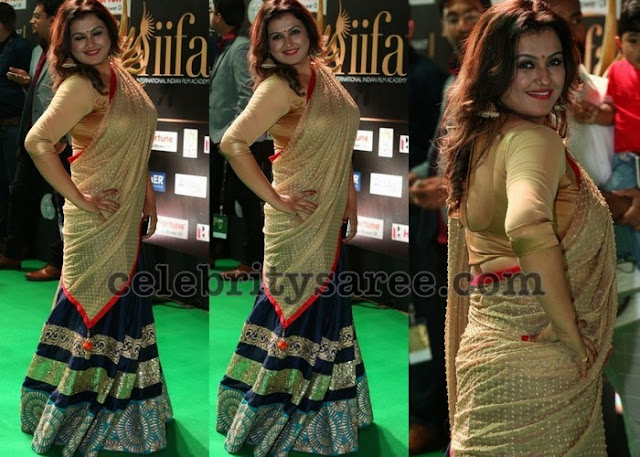 Sona Black Half Saree