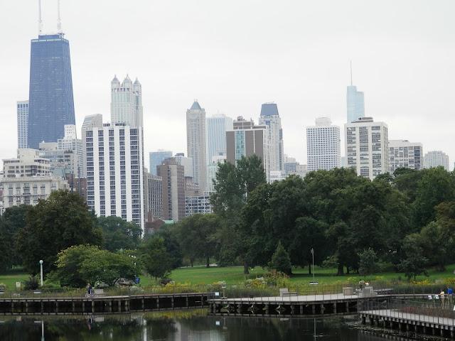 promenade à Lincoln Park à Chicago