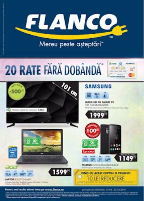 cataloage-brosuri promoţiile curente  şi magazine  FLANCO
