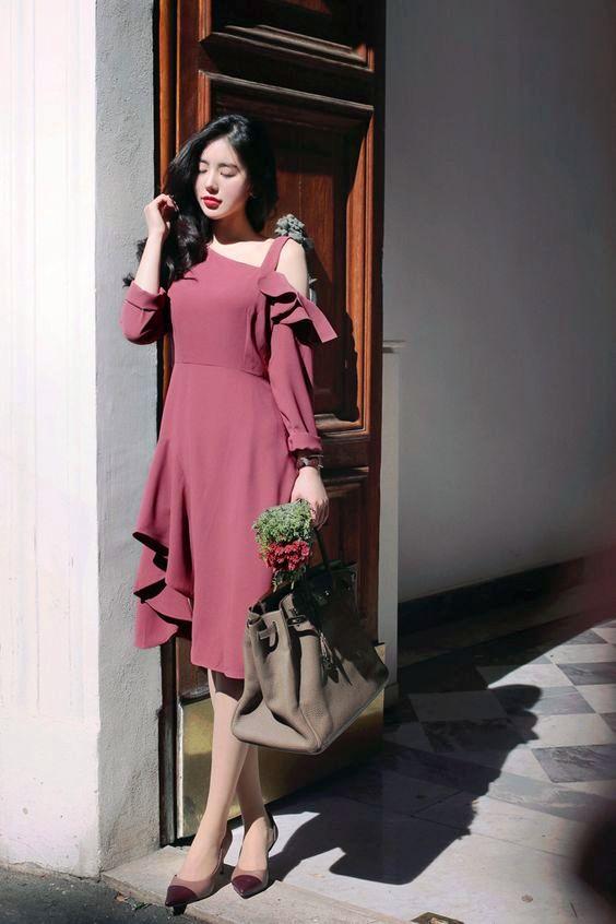model baju korea keempat