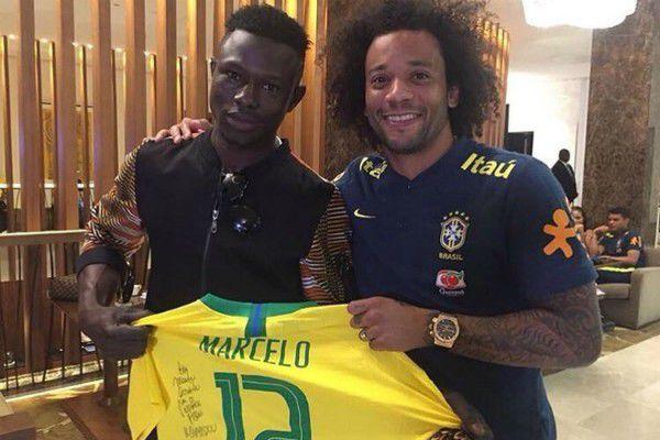 Marcelo's gift to Mamoudou Gassama