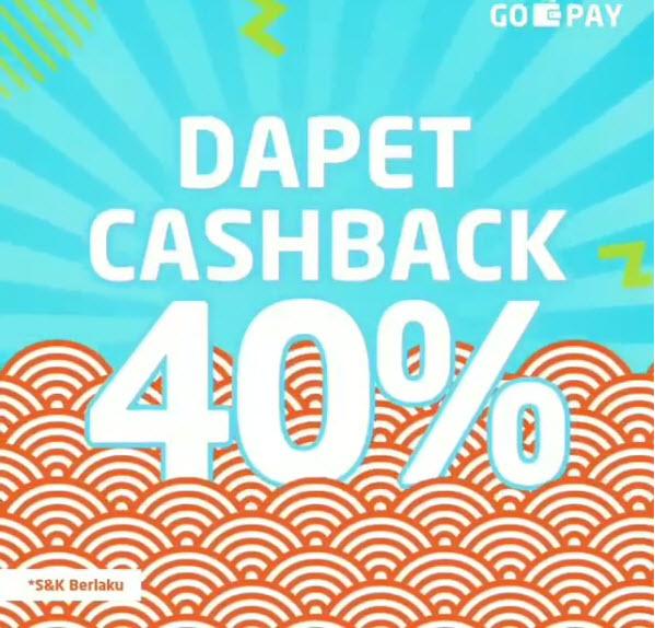 Yoshinoya - Promo Cashback 40% Pakai GOPAY (s.d 31 Des 2018)