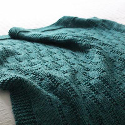 Fifty Four Ten Studio Prairie Fields New Blanket Knitting Pattern