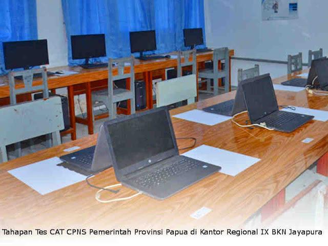 Tahapan Tes CAT CPNS Pemerintah Provinsi Papua di Kantor Regional IX BKN Jayapura