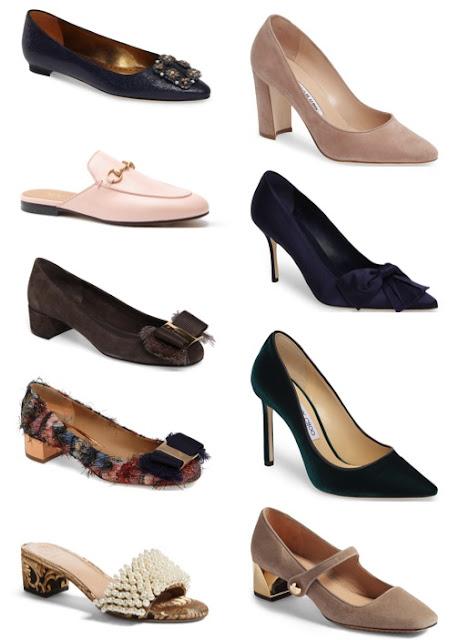 Early Fall Shoe Wish List