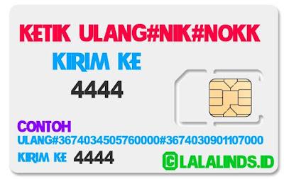 Cara Cepat Registrasi Ulang Kartu Sim Card Semua Operator